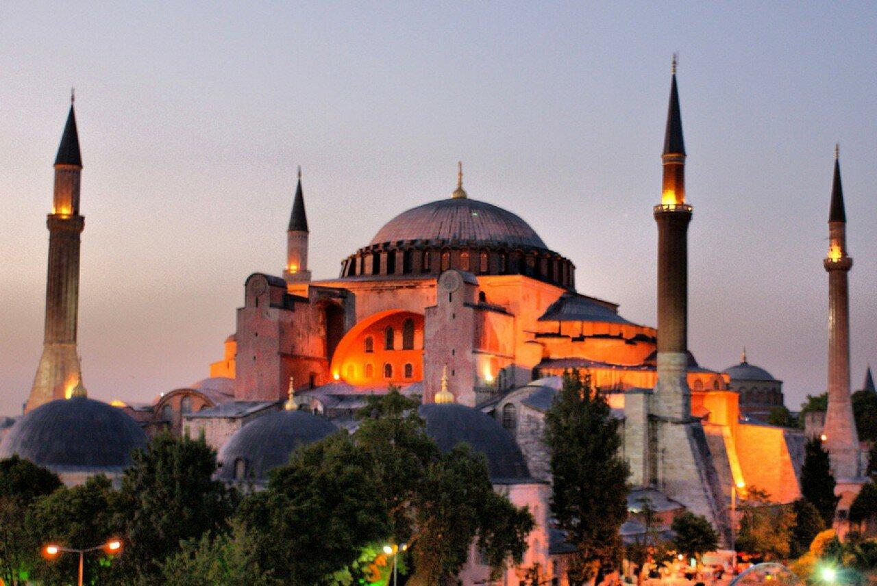 Свята Софія Стамбул (Константинополь)