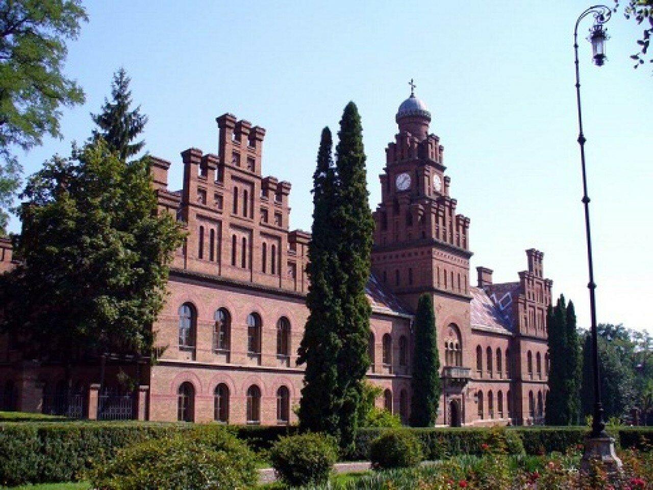 Резиденція Чернівецьких митрополитів