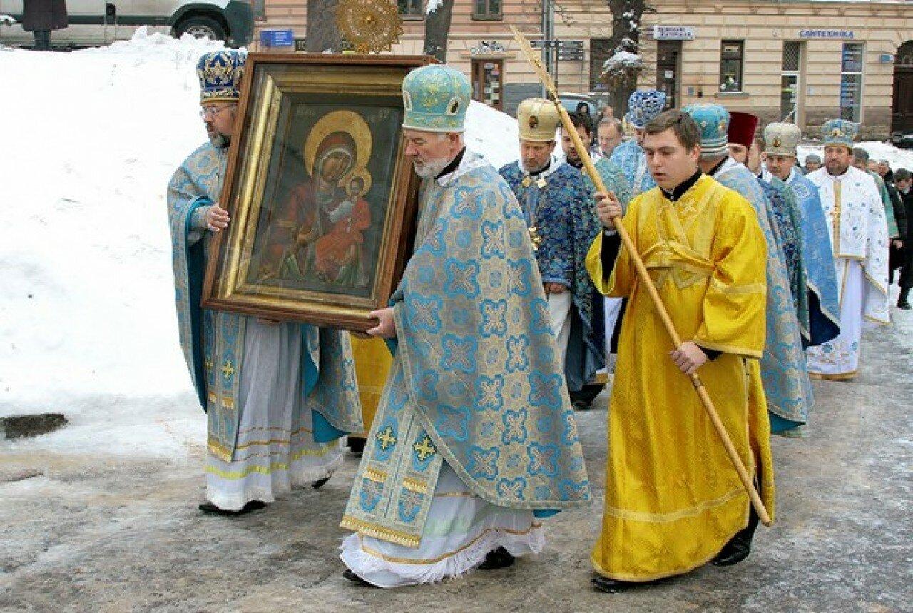 Ікона Львівської Богородиці