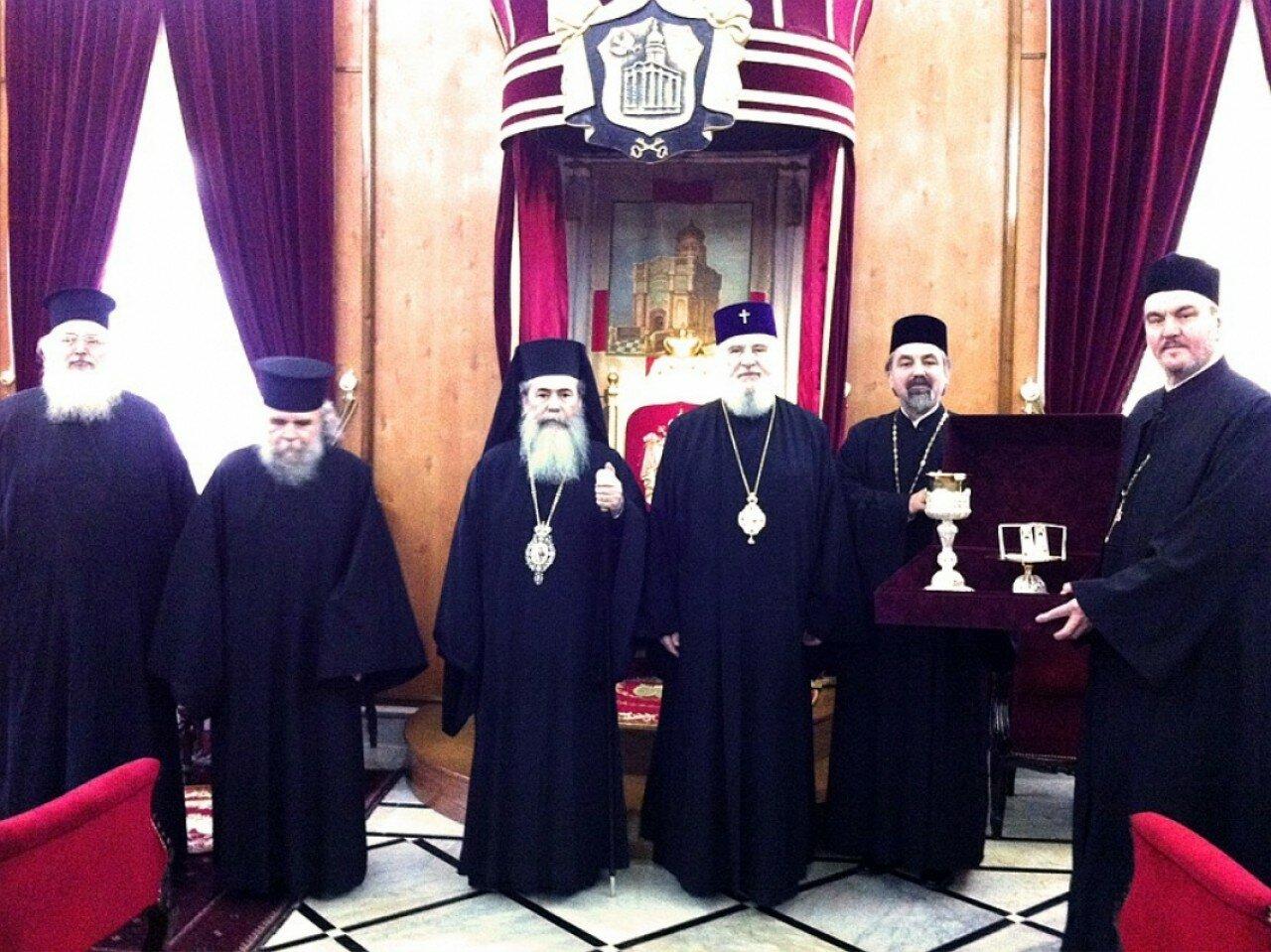 Єрусалимська і румунська делегації