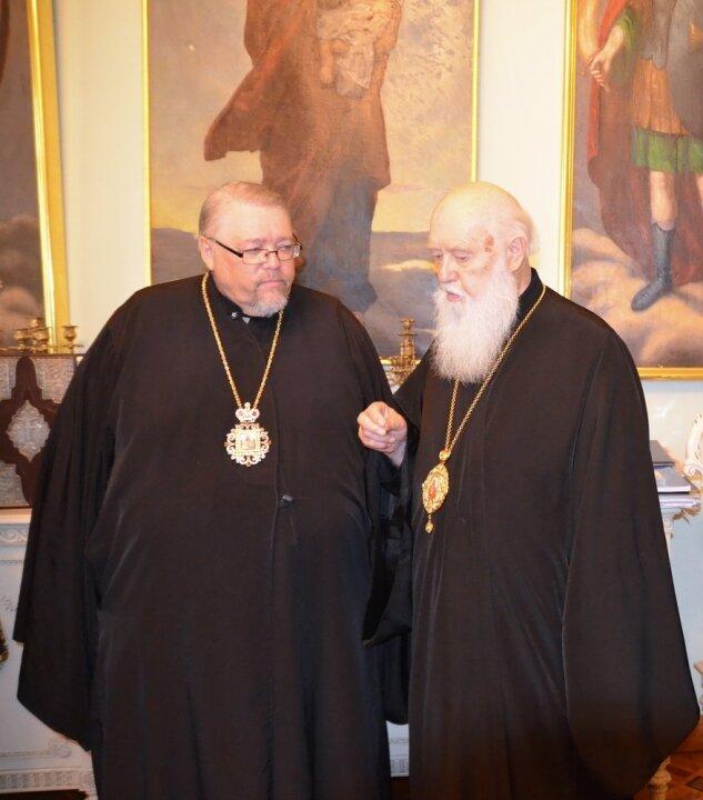 Патріарх Філарет зустрівся з митрополитом Юрієм (Каліщуком)