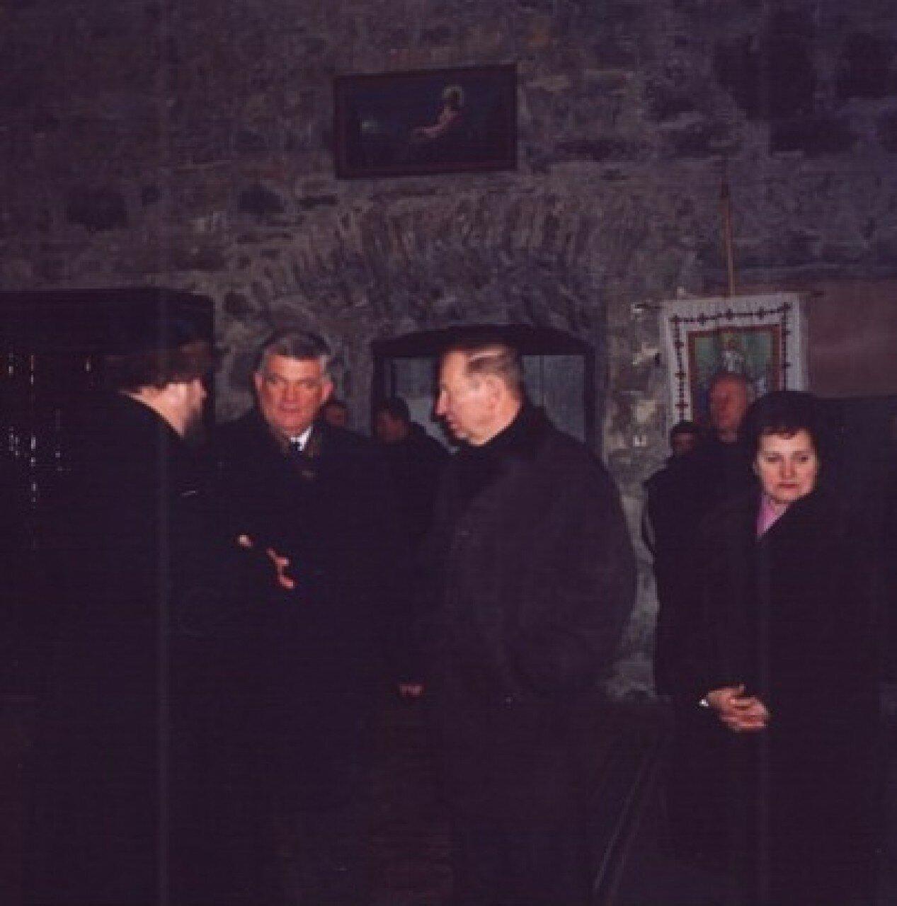 Леонід Кучма Манявський монастир