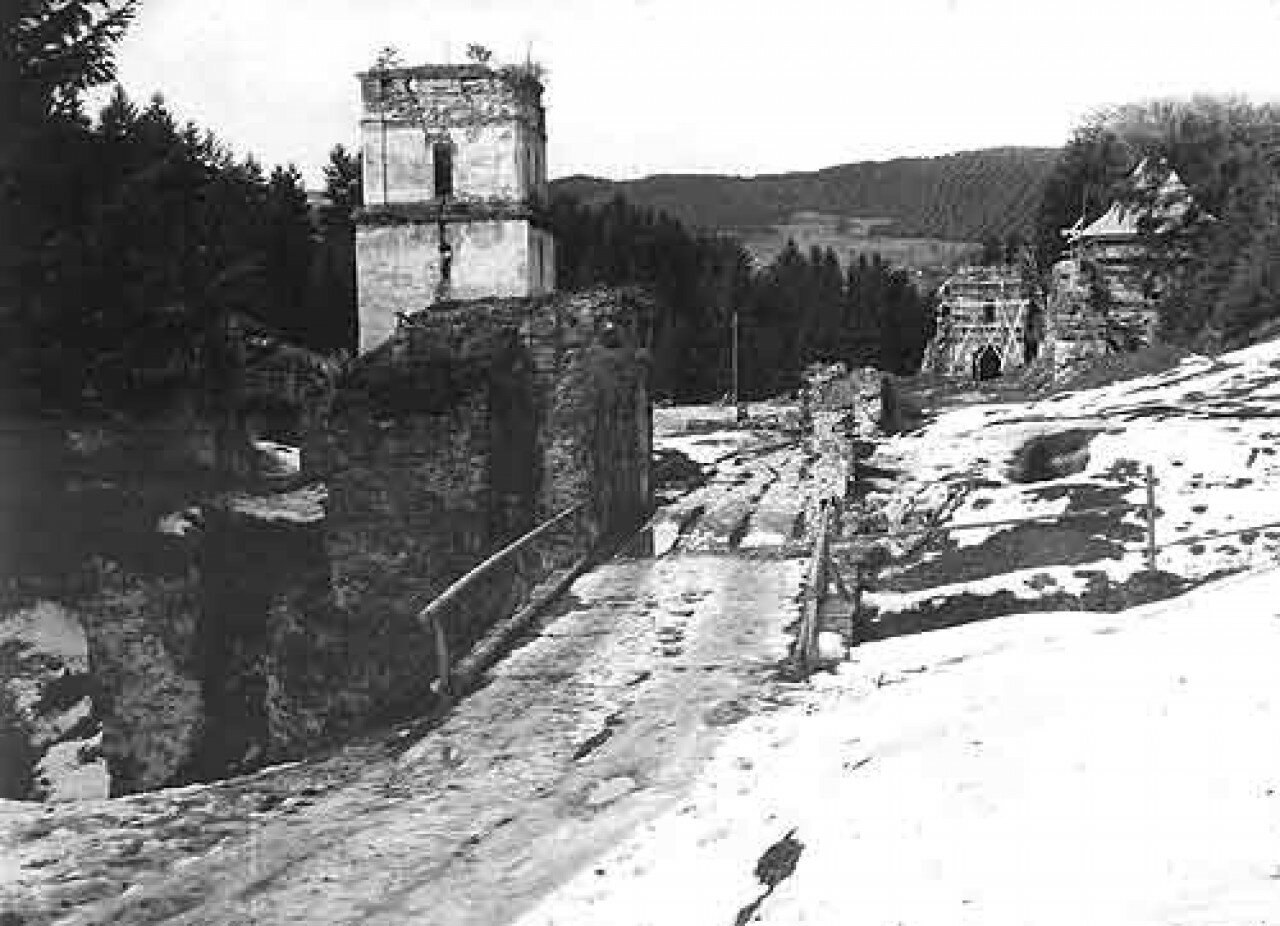 Руїни Манявський Монастир
