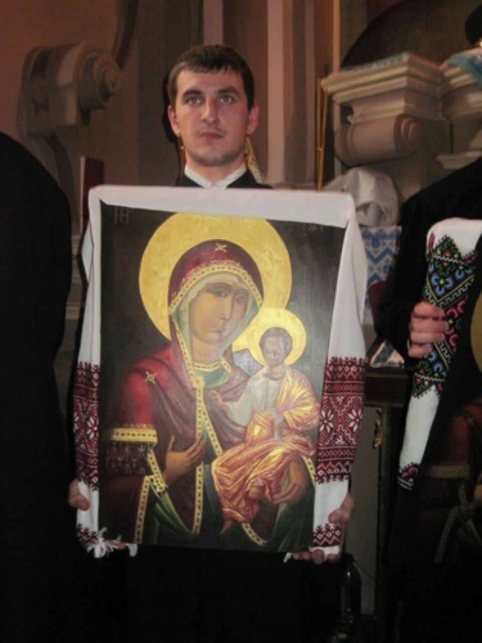Список Ікони Богородиці Львівської
