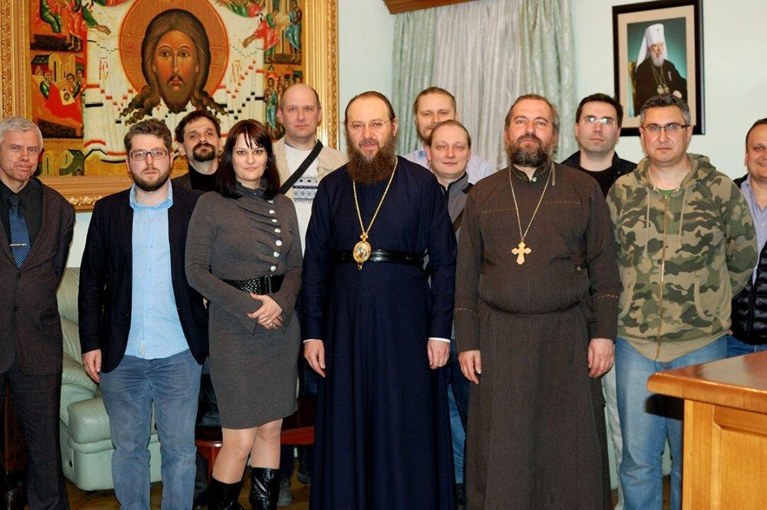 Отець Віталій Ейсмонт серед блогерів