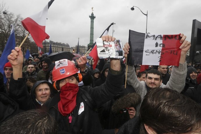 Франція: День гніву
