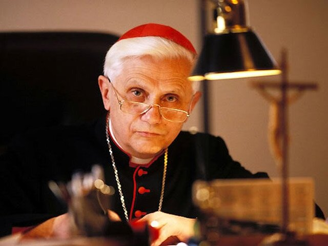 Кардинал Йозеф Ратцінгер