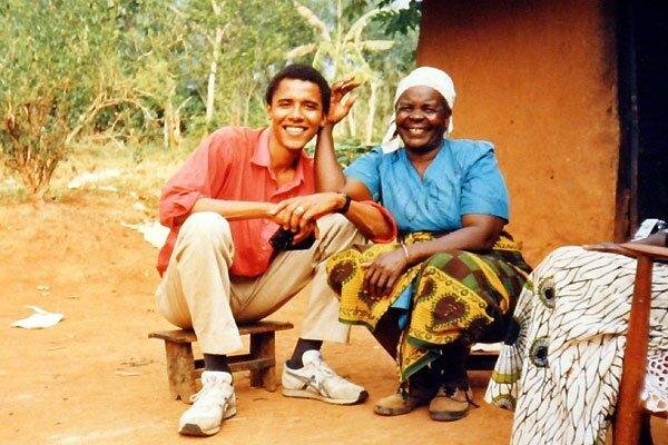 Барак Обами в Кенії