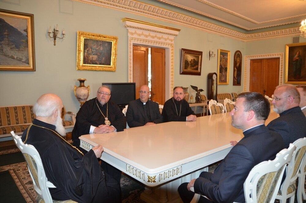 зустріч Святійшого Патріарха Філарета з митрополитом Юрієм (Каліщуком),