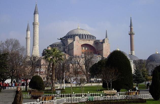 Свята Софія; Константинополь