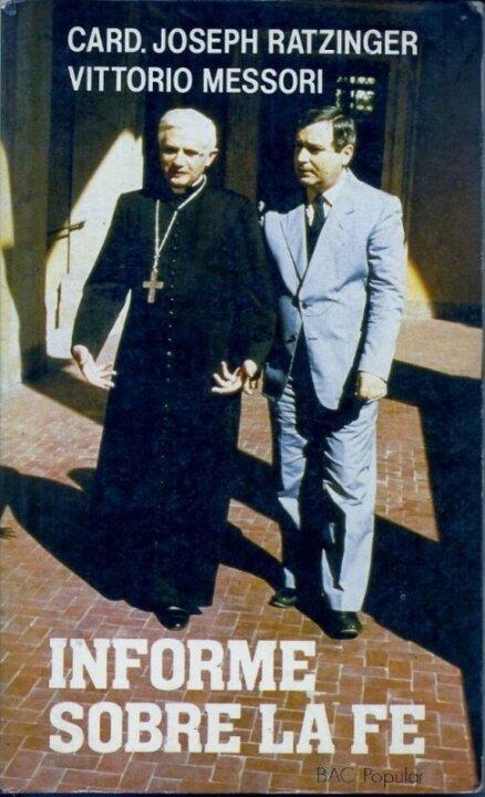 Кардинал Йозеф Ратцінгер і журналіст Вітторіо Мессорі